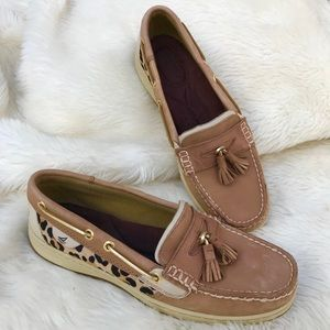 Sperry Topsider Angelfish Pony Hair Boat Shoes